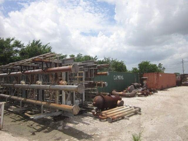 Dismantled Nitric Acid Plant