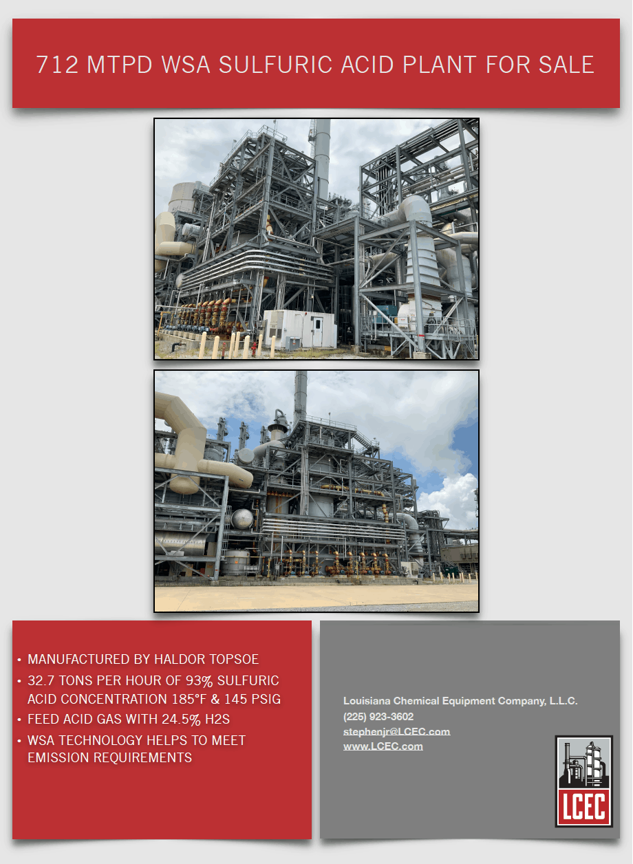 Purchase a Sulfuric Acid Plant